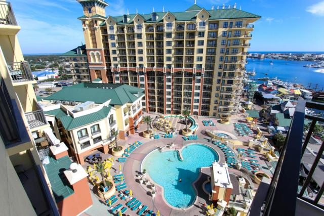 10 Harbor Boulevard W 1025, Destin, FL 32541 (MLS #787035) :: Classic Luxury Real Estate, LLC
