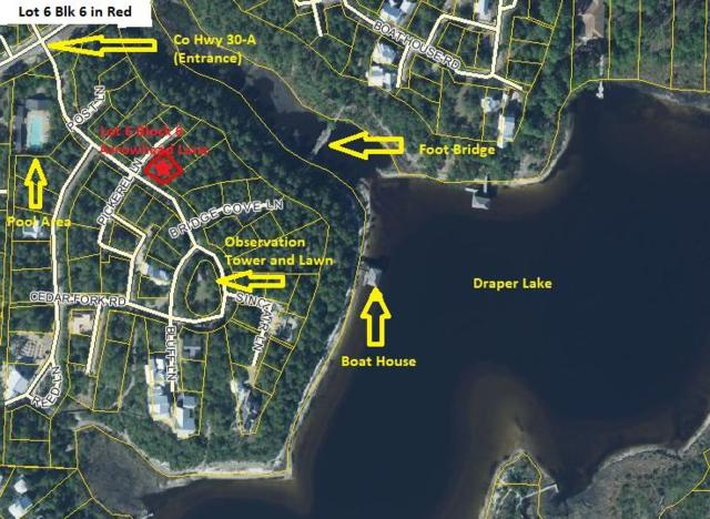 Lot 6 Blk6 Arrowhead Lane, Santa Rosa Beach, FL 32459 (MLS #796992) :: Scenic Sotheby's International Realty