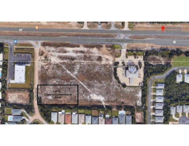 13381 Emerald Coast Parkway Lot #3, Miramar Beach, FL 32550 (MLS #801882) :: Classic Luxury Real Estate, LLC