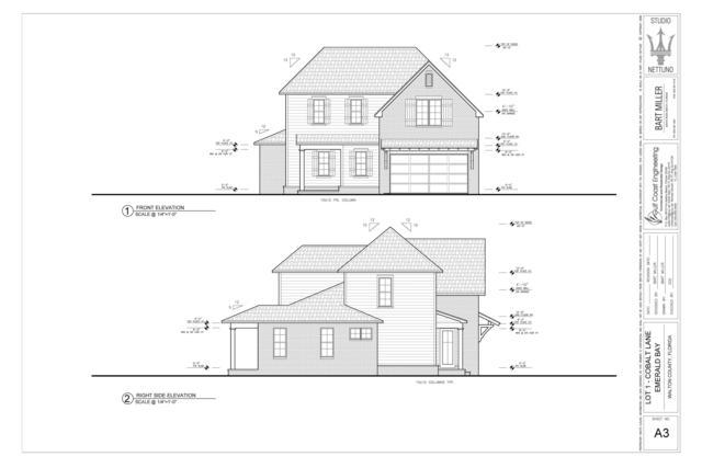 Lot 1 Cobalt Lane, Destin, FL 32541 (MLS #804844) :: Classic Luxury Real Estate, LLC