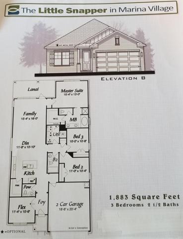 Lot 39 Oak Tree Blvd, Freeport, FL 32439 (MLS #808796) :: Classic Luxury Real Estate, LLC