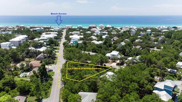 Lot 9 BlkD Hilltop - Crescent Drive, Santa Rosa Beach, FL 32459 (MLS #810285) :: Better Homes & Gardens Real Estate Emerald Coast