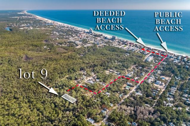 Lot9 Blk2 Elm Street, Santa Rosa Beach, FL 32459 (MLS #815288) :: RE/MAX By The Sea