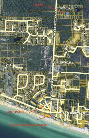 XX Calm Gulf Drive, Santa Rosa Beach, FL 32459 (MLS #815445) :: Luxury Properties Real Estate