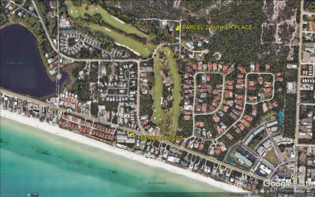 Parcel 2 Bunker Place Drive, Santa Rosa Beach, FL 32459 (MLS #821030) :: Coastal Lifestyle Realty Group