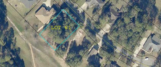 Lot 61 Par Court, Crestview, FL 32536 (MLS #826518) :: Berkshire Hathaway HomeServices Beach Properties of Florida