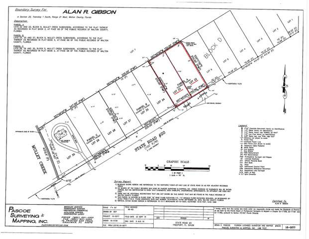 Lots 22-23 W State Hwy 20, Freeport, FL 32439 (MLS #827558) :: Counts Real Estate Group
