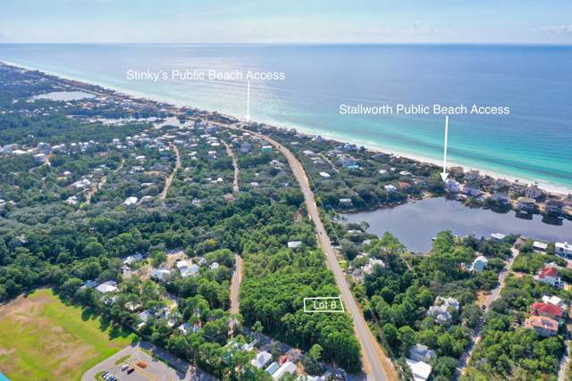 lot 8 W County Hwy 30A, Santa Rosa Beach, FL 32459 (MLS #833321) :: Linda Miller Real Estate