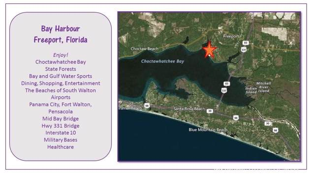 Lot 18 Bay Harbour Boulevard, Freeport, FL 32439 (MLS #834241) :: Classic Luxury Real Estate, LLC