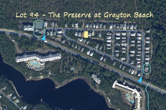 TBD Morgan's Trail Lot 94, Santa Rosa Beach, FL 32459 (MLS #840375) :: Keller Williams Emerald Coast