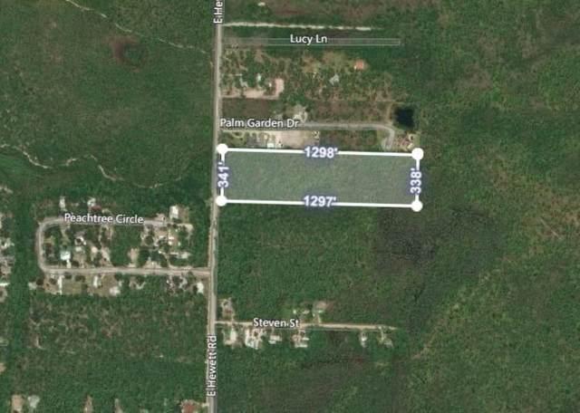 LOT 60 E Hewett East Road, Santa Rosa Beach, FL 32459 (MLS #841074) :: Counts Real Estate Group