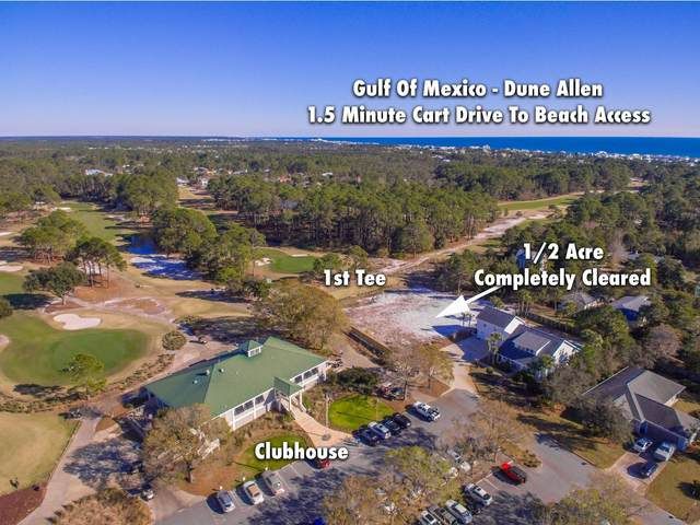 LOT 5 Golf Club Drive, Santa Rosa Beach, FL 32459 (MLS #845804) :: Beachside Luxury Realty