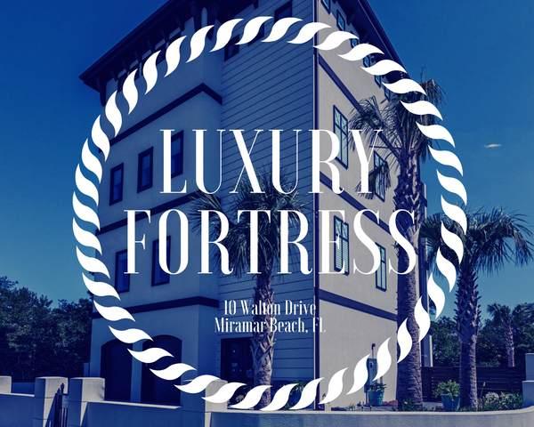 10 Walton Drive, Miramar Beach, FL 32550 (MLS #845815) :: Scenic Sotheby's International Realty