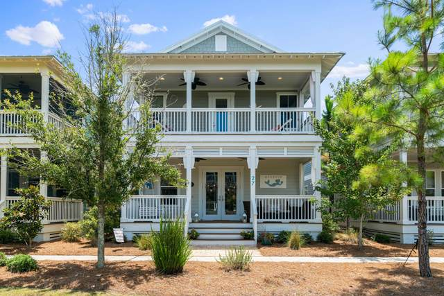 27 Chordgrass Way, Santa Rosa Beach, FL 32459 (MLS #848831) :: The Beach Group