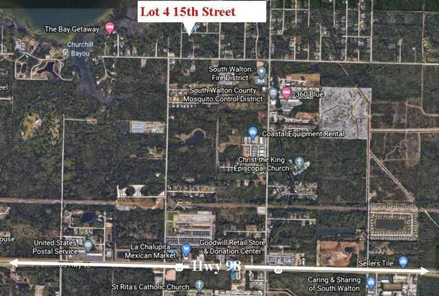 Lot 4 15Th Street, Santa Rosa Beach, FL 32459 (MLS #854175) :: Berkshire Hathaway HomeServices Beach Properties of Florida