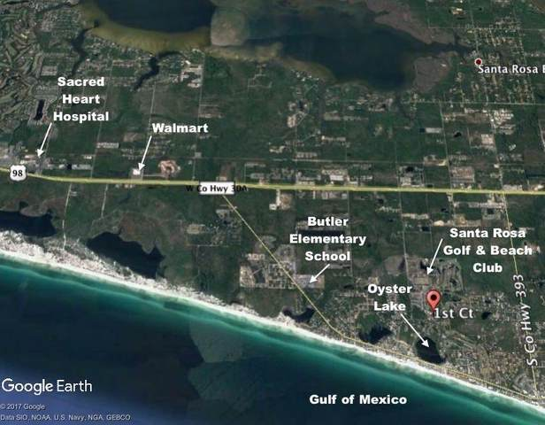 24 1st Court, Santa Rosa Beach, FL 32459 (MLS #860838) :: Berkshire Hathaway HomeServices PenFed Realty