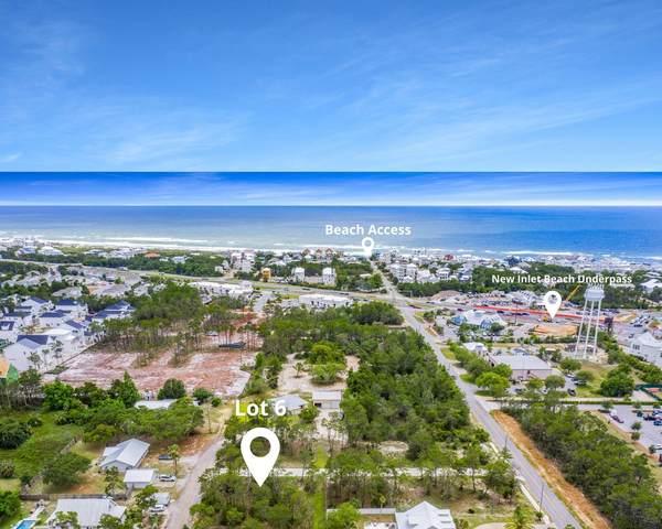 Lot 6 N Wall Street, Inlet Beach, FL 32461 (MLS #872437) :: Linda Miller Real Estate
