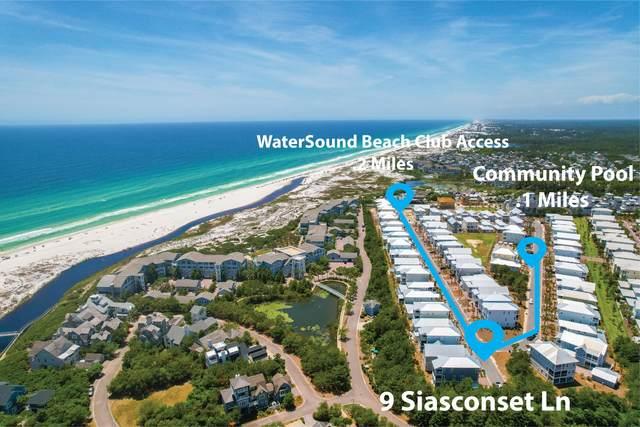 9 Siasconset Lane, Inlet Beach, FL 32461 (MLS #872631) :: The Ryan Group