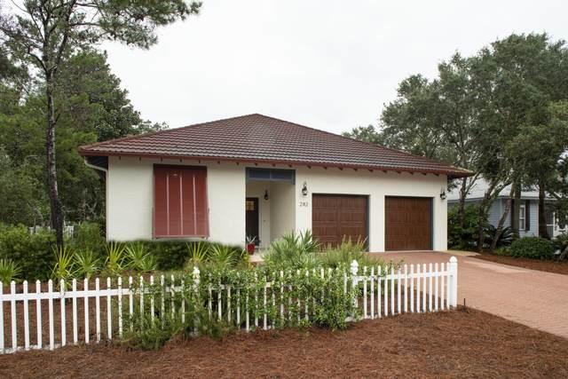 282 Seabreeze Circle, Inlet Beach, FL 32461 (MLS #881849) :: Coastal Lifestyle Realty Group