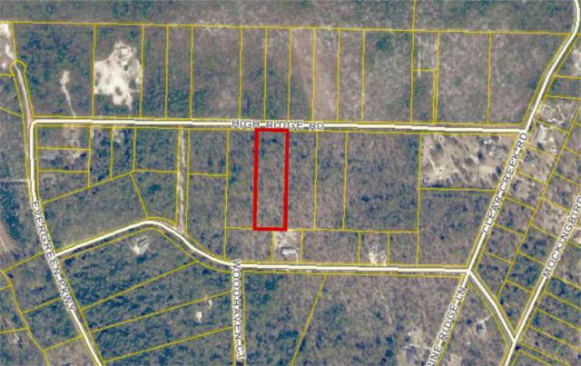 LOT-B High Ridge Road, Crestview, FL 32539 (MLS #595601) :: Scenic Sotheby's International Realty
