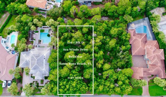 Lot 7 Bk D Sea Winds Drive, Santa Rosa Beach, FL 32459 (MLS #752649) :: ResortQuest Real Estate