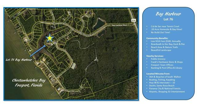 Lot 76 E Harbour Trace, Freeport, FL 32439 (MLS #782099) :: RE/MAX By The Sea