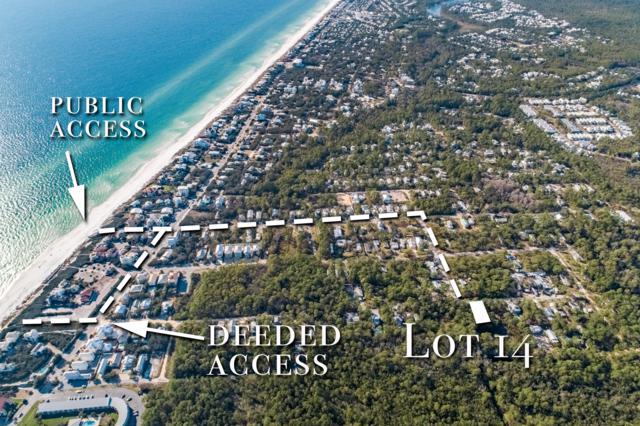 LOT 14 Elm Street, Santa Rosa Beach, FL 32459 (MLS #798518) :: Coastal Lifestyle Realty Group