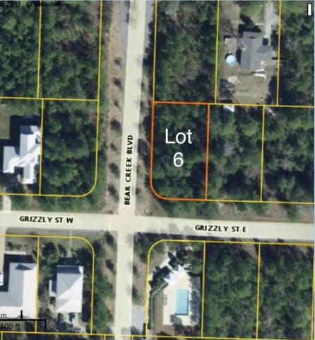 Lot 6 Grizzly Street, Freeport, FL 32439 (MLS #822950) :: Hammock Bay