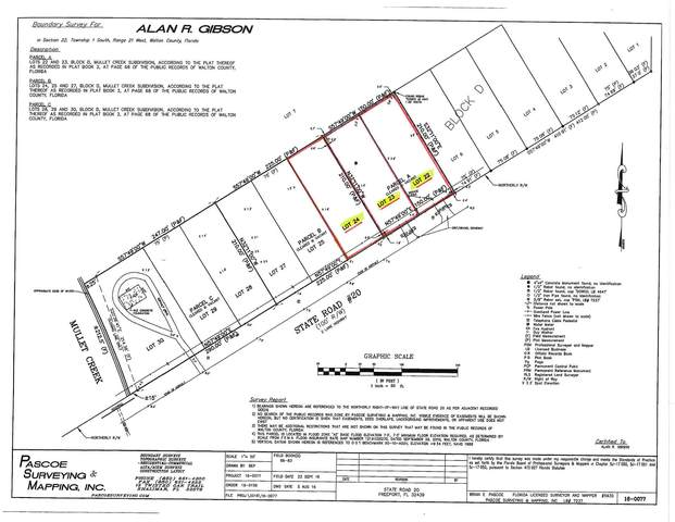 Lots 22-24 W State Hwy 20, Freeport, FL 32439 (MLS #827558) :: Anchor Realty Florida