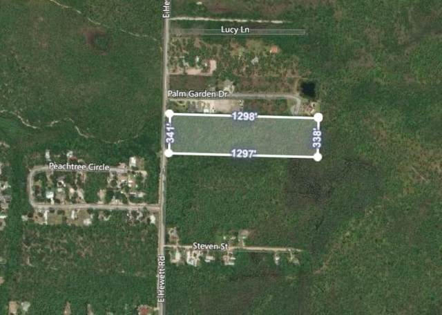 Lot 60 E Hewett Road, Santa Rosa Beach, FL 32459 (MLS #841078) :: Counts Real Estate Group