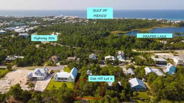 Lot 6 Oak Hill Lane, Santa Rosa Beach, FL 32459 (MLS #880208) :: Rosemary Beach Realty
