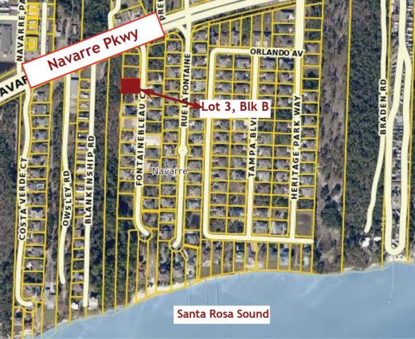 Lot3/BlkB Fontainebleau Court, Navarre, FL 32566 (MLS #734372) :: ResortQuest Real Estate
