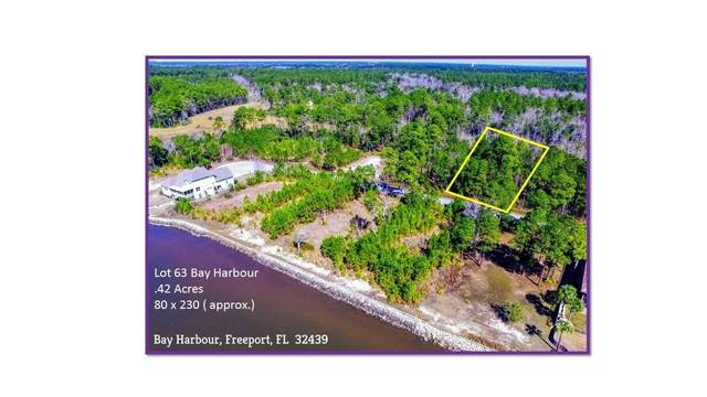 Lot 63 N Sunset Harbour, Freeport, FL 32439 (MLS #788686) :: RE/MAX By The Sea