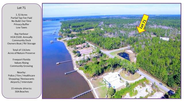 Lot 71 E Harbour, Freeport, FL 32439 (MLS #789028) :: RE/MAX By The Sea