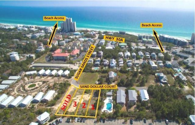 1,2,3 Lots Sand Dollar Ct, Santa Rosa Beach, FL 32459 (MLS #791926) :: Luxury Properties Real Estate
