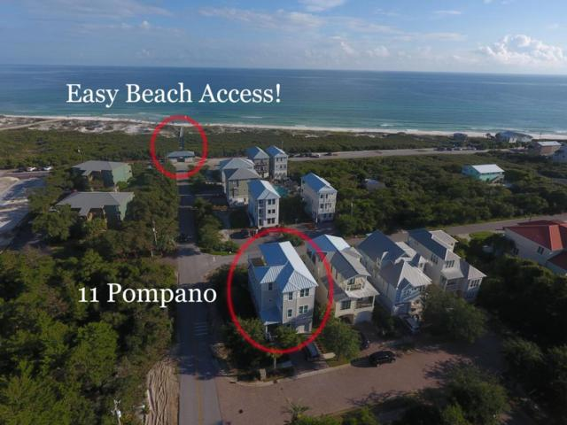 11 Pompano Place Place, Inlet Beach, FL 32461 (MLS #775805) :: 30A Real Estate Sales