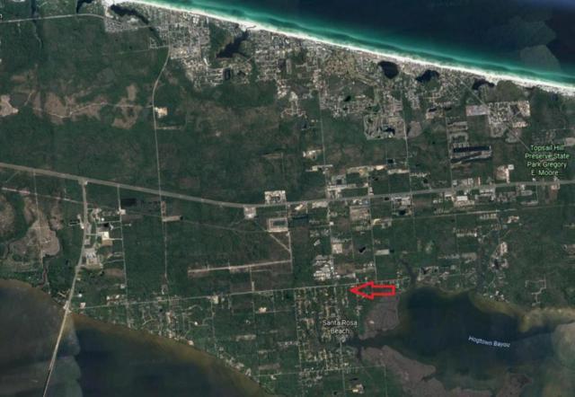XXX 11th Street, Santa Rosa Beach, FL 32459 (MLS #792206) :: Coast Properties
