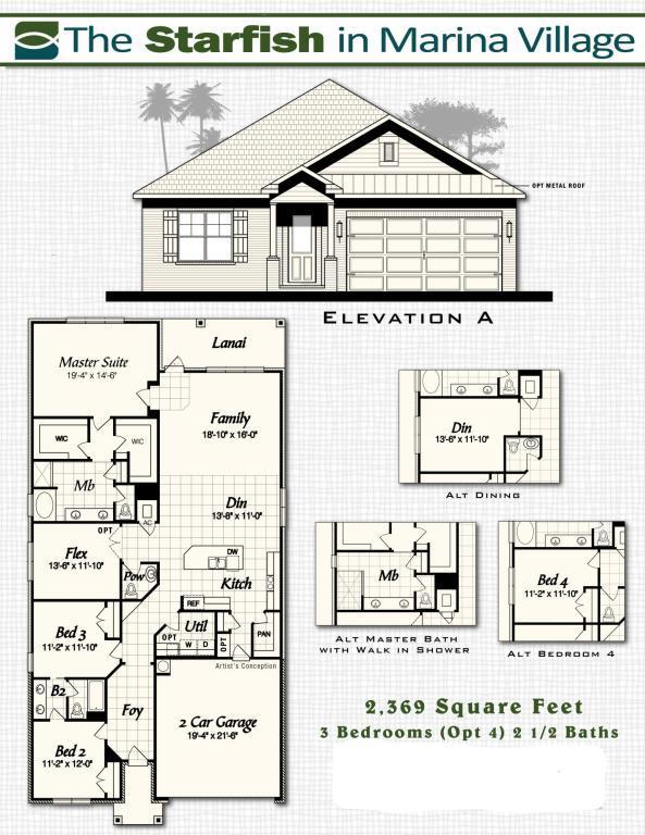 Lot 23 Oak Tree Boulevard, Freeport, FL 32439 (MLS #777135) :: Classic Luxury Real Estate, LLC