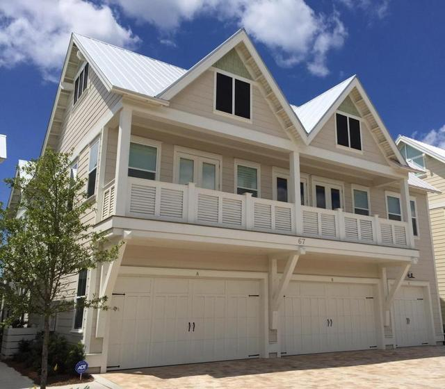 96 Dune Comet Lane Unit B, Inlet Beach, FL 32461 (MLS #791555) :: RE/MAX By The Sea
