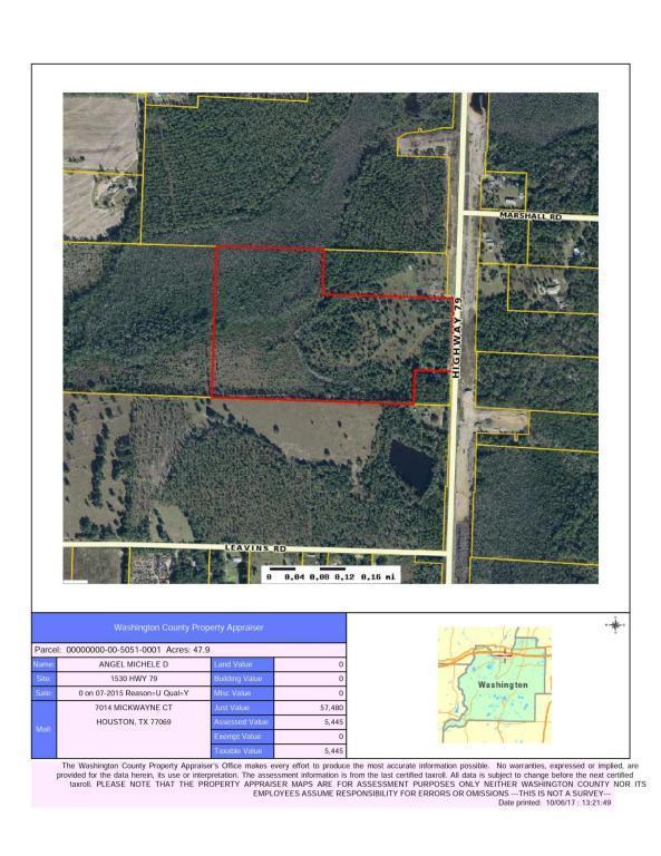 1530 Highway 79 Heights, Bonifay, FL 32425 (MLS #791679) :: Coast Properties