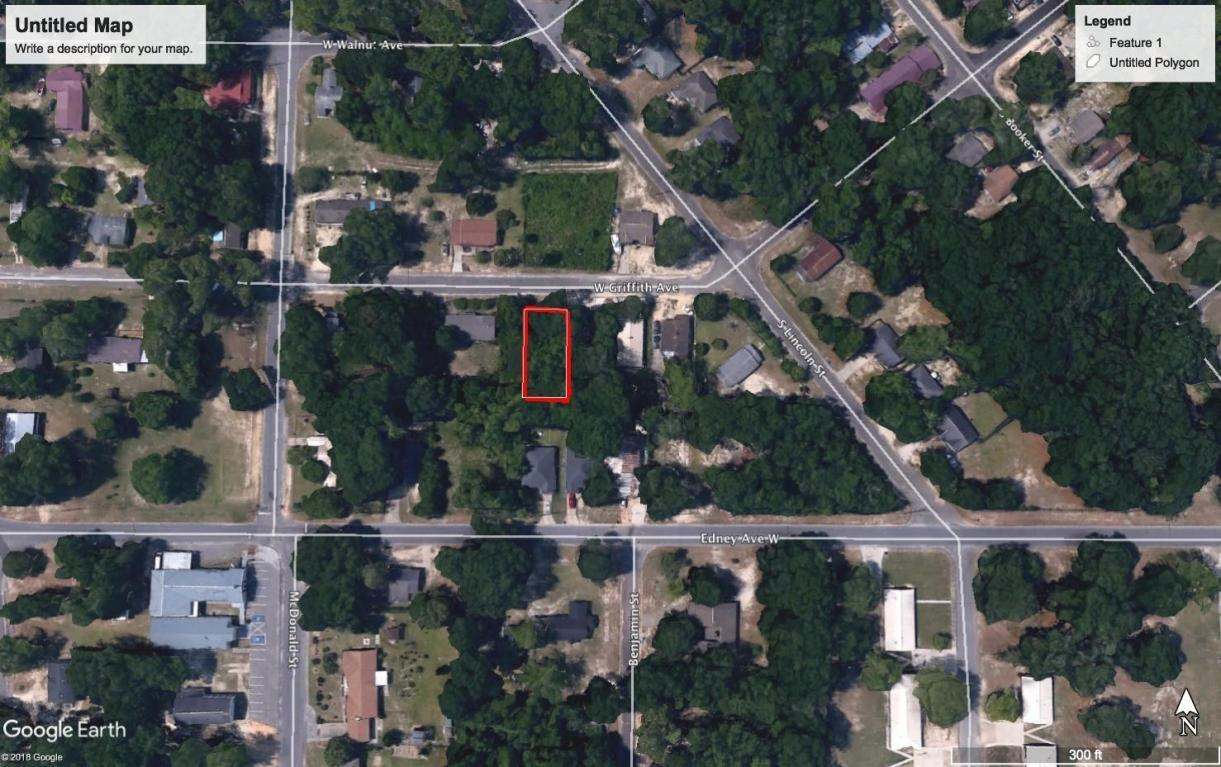 Lot 6 W Griffith Avenue, Crestview, FL 32536 (MLS #796406) :: Homes on 30a,  LLC