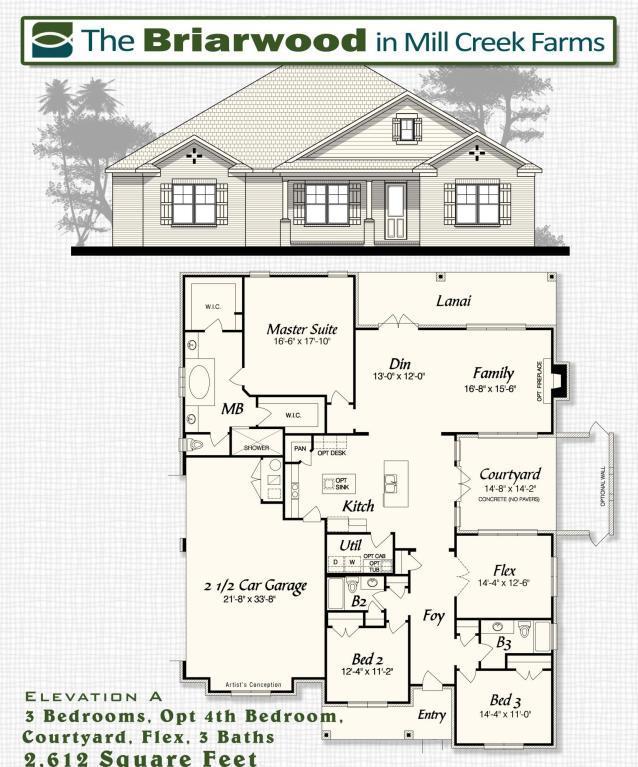 1522 Mill Creek Drive, Baker, FL 32531 (MLS #798093) :: Classic Luxury Real Estate, LLC