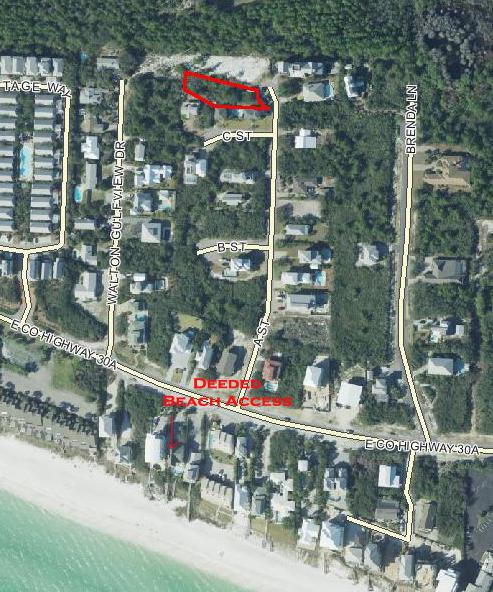 A ST. Lot 20 Seacrest East, Inlet Beach, FL 32461 (MLS #799359) :: Luxury Properties on 30A