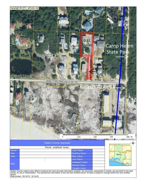 195 Walton Magnolia Lane, Inlet Beach, FL 32461 (MLS #799814) :: Coast Properties