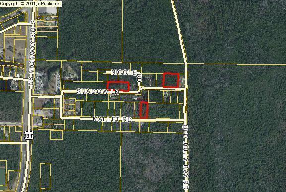 Lots 4 & 5 Blk D Shadow Lane, Freeport, FL 32439 (MLS #799957) :: ResortQuest Real Estate