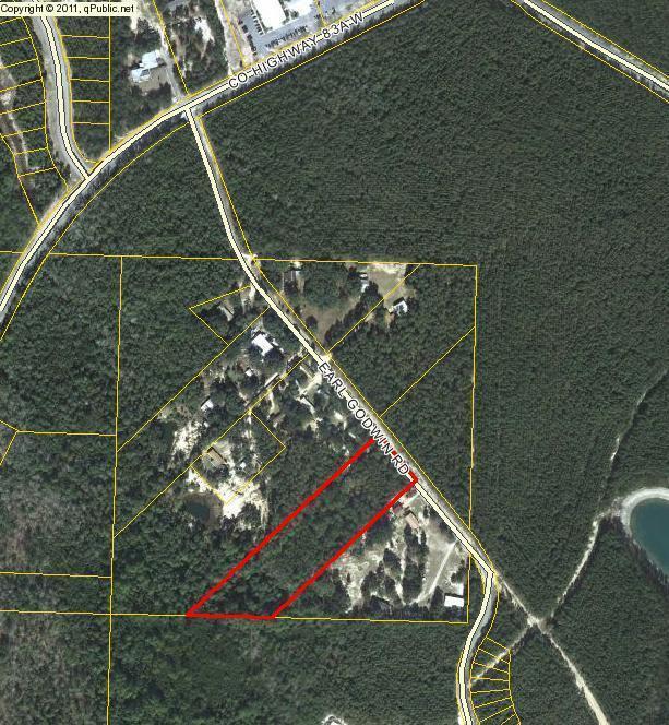 280 Earl Godwin Road, Freeport, FL 32439 (MLS #802279) :: Hammock Bay