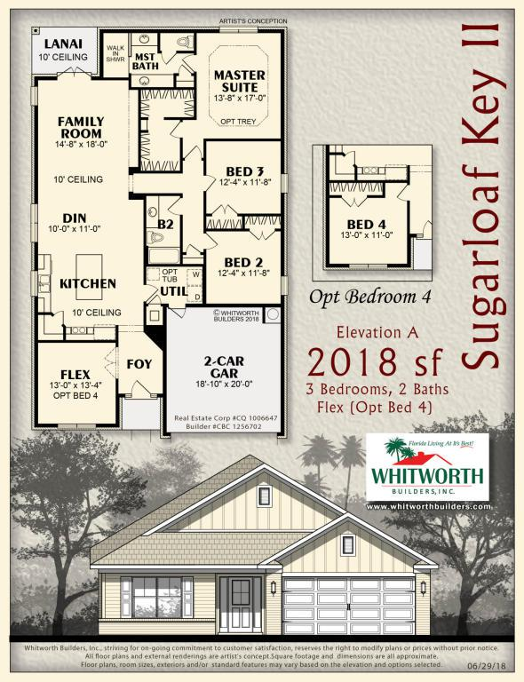 Lot 3 Wyatt Way, Fort Walton Beach, FL 32547 (MLS #805681) :: Counts Real Estate Group