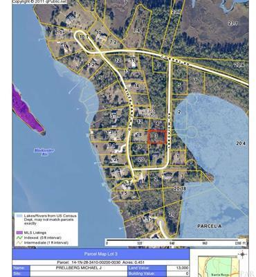 Lot 3 Lakeview Drive, Milton, FL 32583 (MLS #806529) :: The Beach Group