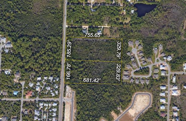 +/-12 Acres S County Road 393, Santa Rosa Beach, FL 32459 (MLS #816004) :: Luxury Properties Real Estate