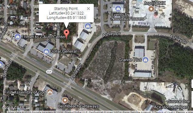 000 N Vestavia Street, Panama City Beach, FL 32413 (MLS #816254) :: Keller Williams Realty Emerald Coast